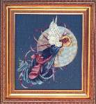 Blue Moon Angel - Cross Stitch