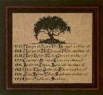 Mothers Tree - Cross Stitch