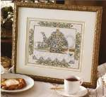 Tea Scene - Cross Stitch Pattern
