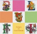 Butterfly Garden Alphabet - Cross Stitch Pattern