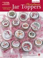 Christmas Jar Toppers - Cross Stitch Pattern
