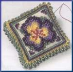 Pansy Petals - Cross Stitch Bead Kits