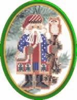Juniper Santa - Cross Stitch