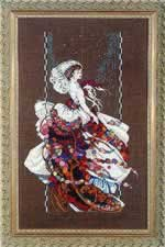 Blooming Bride - Cross Stitch