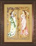 Maidens of the Seasons I - Cross Stitch Pattern