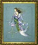 Shimmering Mermaid - Cross Stitch Pattern