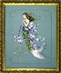 Shimmering Mermaid - Cross Stitch