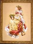 A Royal Holiday - Cross Stitch Pattern