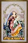 Madonna of the Garden - Cross Stitch