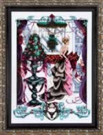 Christmas in London - Cross Stitch