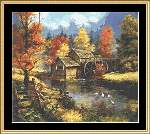 Glory of Autumn - Cross Stitch Pattern