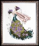 Lilac - Cross Stitch
