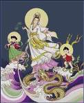 Chinese Goddess of Mercy - Cross Stitch Pattern