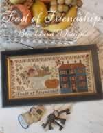 Feast of Friendship - Cross Stitch Pattern