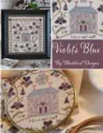 Violets Blue - Cross Stitch Pattern