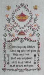 Kitchen Prayer Sampler - Cross Stitch