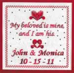My Beloved is Mine - Cross Stitch Pattern