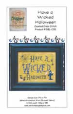 Have a Wicked Halloween - Cross Stitch Pattern