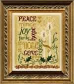 Spirit of Christmas - Cross Stitch Pattern