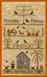 Haunted Hollow - Cross Stitch Pattern