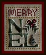 Merry Noel - Cross Stitch Pattern