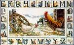Country Sampler - Cross Stitch Pattern