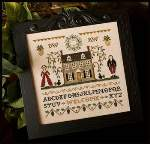 Colonial Welcome - Cross Stitch