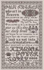 The Lords Prayer - Cross Stitch Pattern