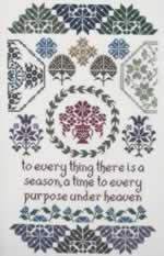 Quaker Seasons - Cross Stitch Pattern