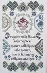 Quaker Harmony - Cross Stitch Pattern