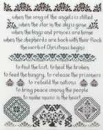 The Work of Christmas - Cross Stitch
