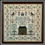 In Search of Bliss - Cross Stitch Pattern