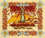 Seasonal Dragons Autumn - Cross Stitch Pattern