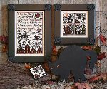 Cats, Bats and Witches - Cross Stitch Pattern
