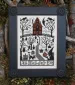 All Hallows Eve - Cross Stitch Pattern