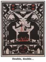 Double, Double - Cross Stitch Pattern