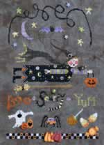 Boo Scurry Yum - Cross Stitch Pattern