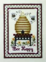 The Bee Cottage - Cross Stitch Pattern
