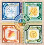 Celtic Seasons - Cross Stitch Pattern