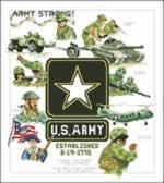 Army - Cross Stitch Pattern