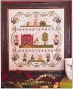Berkshire Bee Hives - Cross Stitch