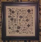 Keys to the Kingdom - Cross Stitch