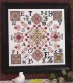 Four Corners - Cross Stitch Pattern