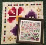 Dreaming of Iris - Cross Stitch Pattern