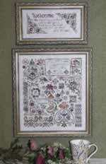 Flowers of Rosehall - Cross Stitch