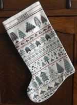 Cranberry Row - Cross Stitch Pattern