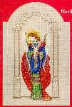 Byzantine Angel - Cross Stitch Pattern