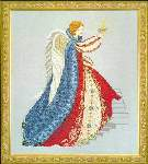 Elizabethan Angel - Cross Stitch Pattern