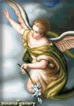 Saint Archangel Gabriel - Cross Stitch