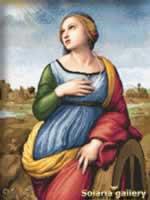 Saint Ekatherine - Cross Stitch Pattern